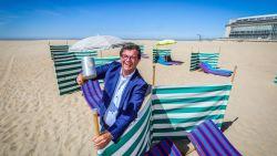 Je moet dan toch niet reserveren op het strand van Oostende