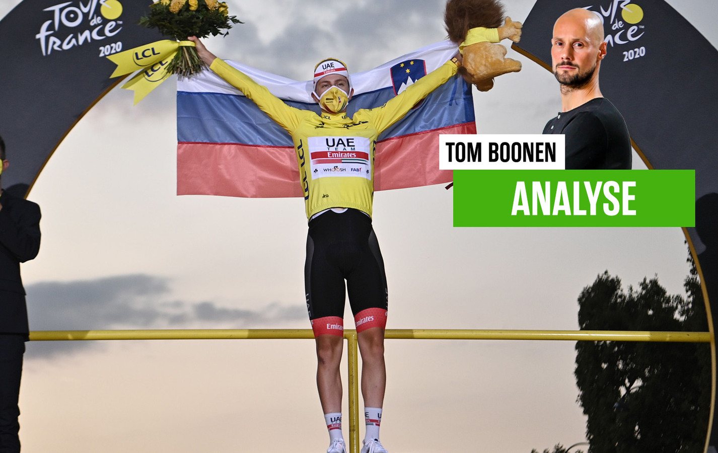 Tom Boonen over Tourwinnaar Pogacar.