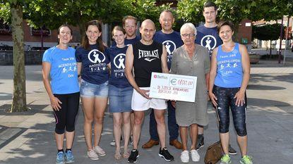 Organisatie City Trail Run schenkt 1.800 euro aan Roparunteams