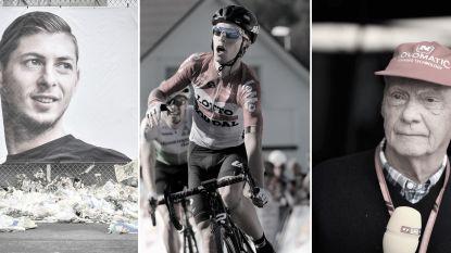 Van deze bekende topsporters namen we in 2019 afscheid: Eddy Merckx verloor drie goede vrienden