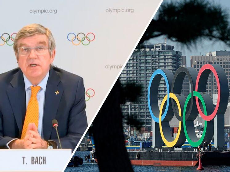 IOC-voorzitter: 'We kijken hoe de Spelen door kunnen gaan'