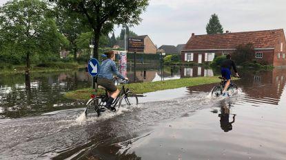 Schade wordt opgemeten na wateroverlast door stormweer in Noorderkempen