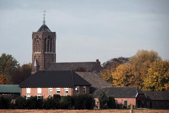 De Sint Mattheüskerk in Azewijn.