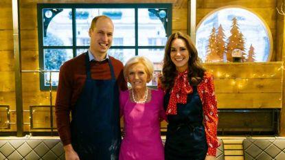 """Kate en William verklappen geheimen tijdens kookprogramma: """"Hij probeerde me te versieren met zijn bolognesesaus"""""""