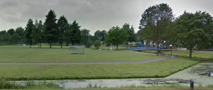 Het park in Noordwest.