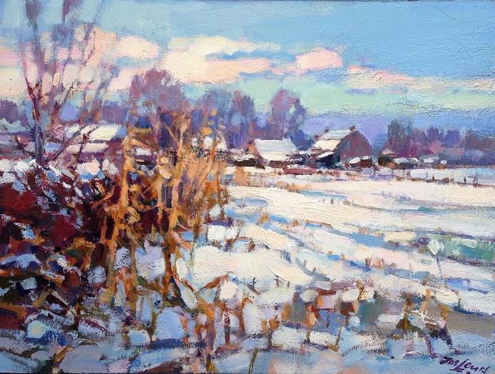 Jos Leurs - Winter bij Valkenswaard
