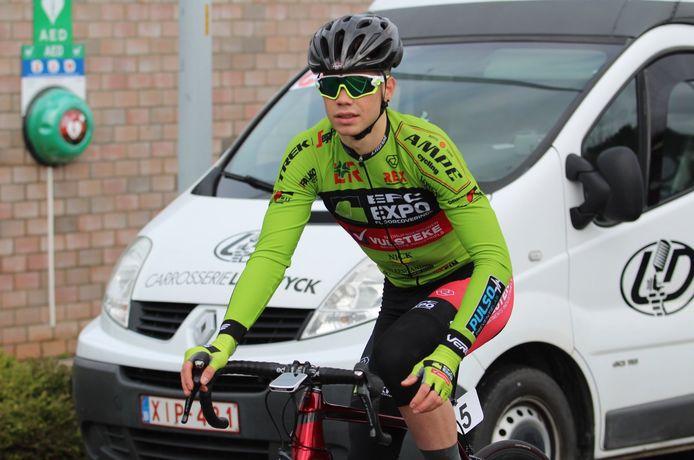 Milan Fretin ruilt het groen van EFC- L&R-Vulsteke voor het rood-wit van Lotto-Soudal.