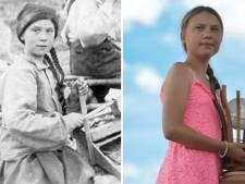 'Greta Thunberg is een tijdreizigster': 120 jaar oude foto leidt tot ophef op sociale media