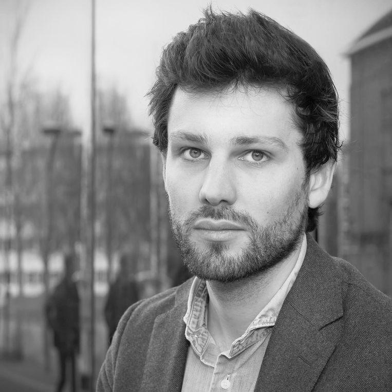 Cody Hochstenbach, stadsgeograaf aan de Universiteit van Amsterdam Beeld UvA
