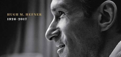 Hugh Hefner wordt eerste man op cover Playboy