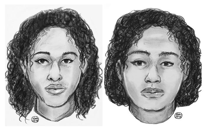 Rotana en Tala (rechts) Farea werden aan elkaar getapet gevonden op een oever van de Hudson in New York.