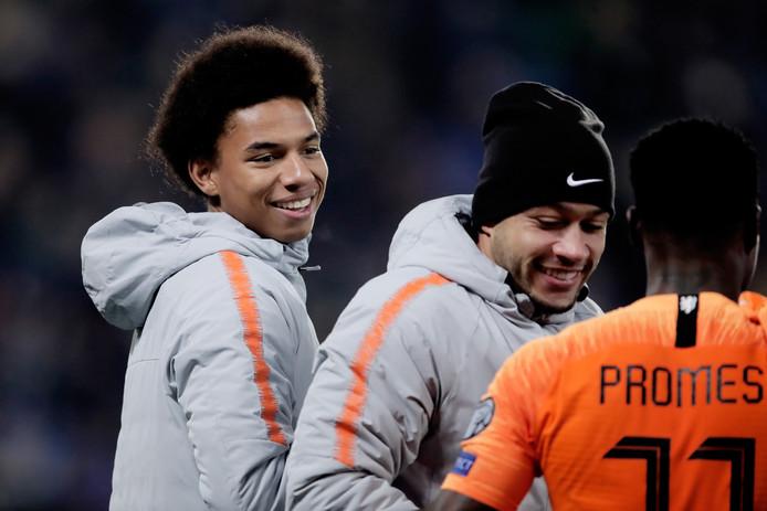 Calvin Stengs kwam tegen Noord-Ierland (0-0) niet in actie, maar maakt vanavond zijn debuut voor het Nederlands elftal.