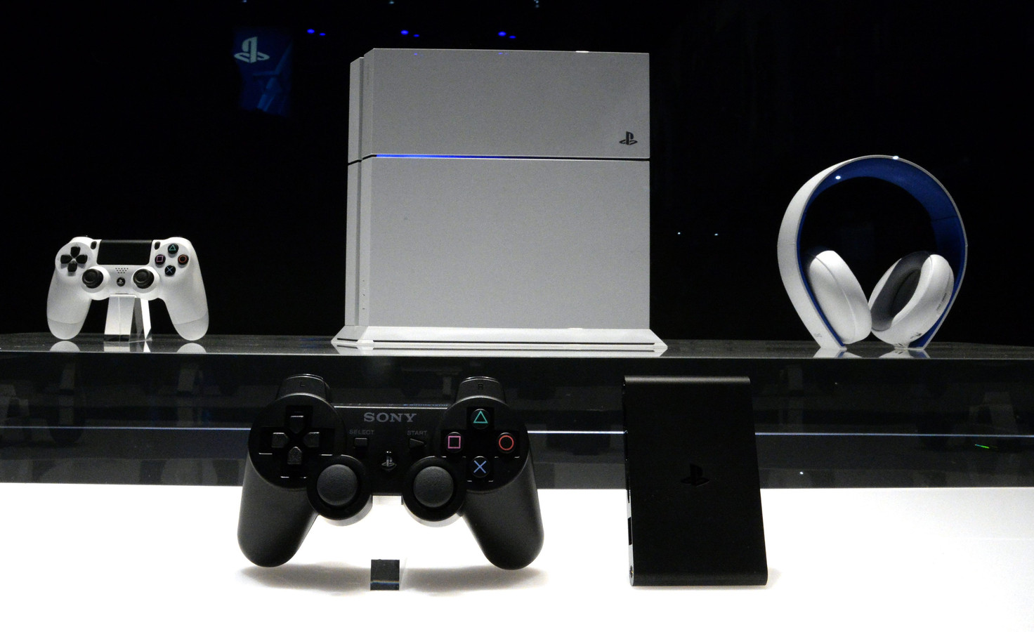 Ondanks de presentatie is het uiterlijk van de nieuwe Playstation nog onbekend.