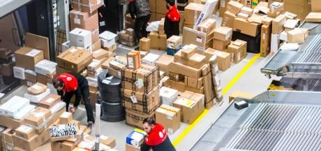 Pakketbezorgers bereiden zich voor op mogelijke extra drukte