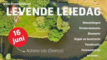 Levende Leiedag zet grootste natuurpark van Oost-Vlaanderen in de kijker: activiteiten voor jong en oud aan Astene Sas