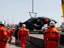Razendsnelle Verstappen besluit training met flinke crash