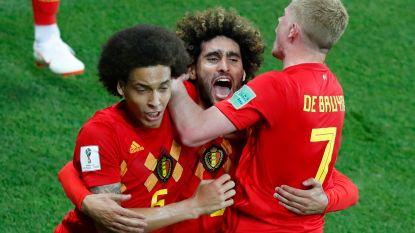Vijf goals om in te lijsten: Fellaini meermaals redder des vaderlands bij Rode Duivels