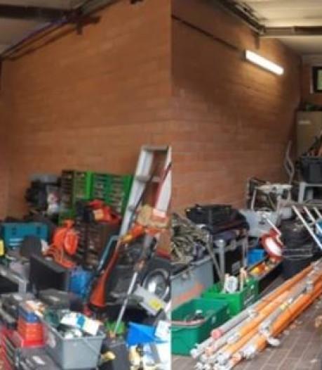 Huis vol gestolen spullen in Brasschaat, waarschijnlijk ook afkomstig van diefstallen in Zuidwest-Brabant