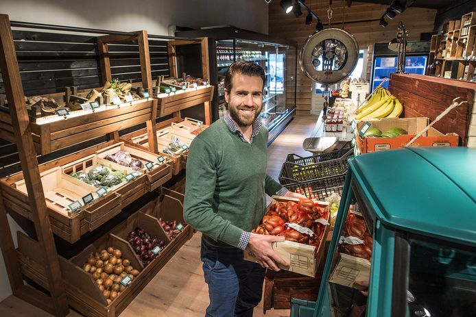Voor Bredanaar Stijn Markusse van Boerschappen is  fruit of groente dat van de norm afwijkt geen enkel probleem.