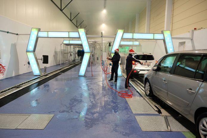 Nieuwe carwash in Nossegem.