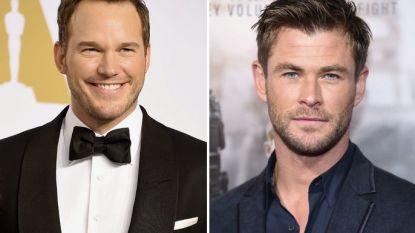 Chris Pratt en Chris Hemsworth outen zich als elkaars grootste fans