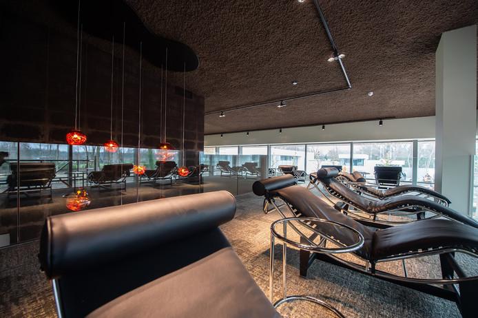 Een van de relaxruimtes in Spa One