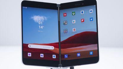 Microsoft onthult uitklapbare smartphone met twee schermen