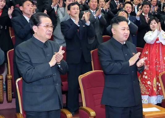 Kim Jong-Un et feu son oncle, Jang Song-Thaek