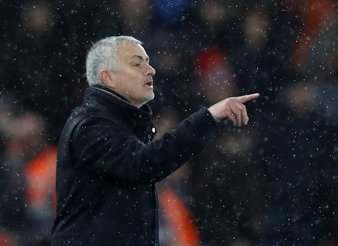 José Mourinho op archiefbeeld.
