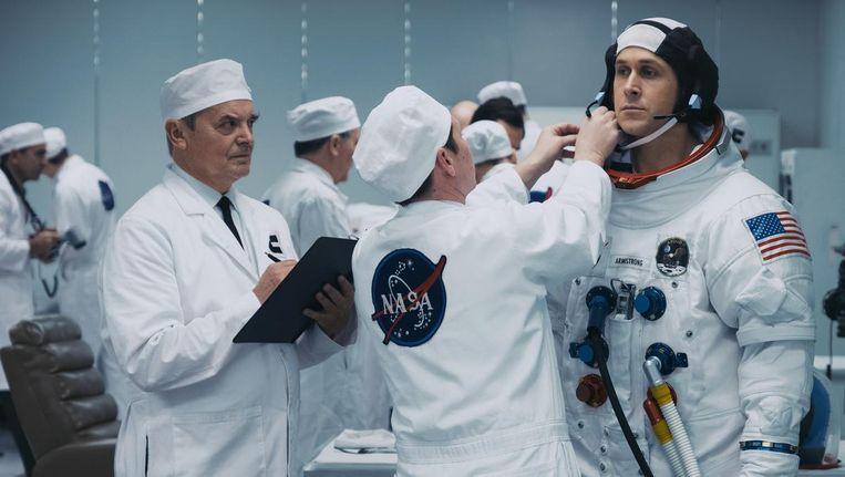 Ryan Gosling in First Man als de ongrijpbare vakman Neil Armstrong Beeld -