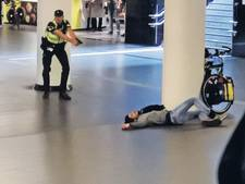 Toestand van slachtoffer 'terreursteker' Amsterdam CS is 'catastrofaal'