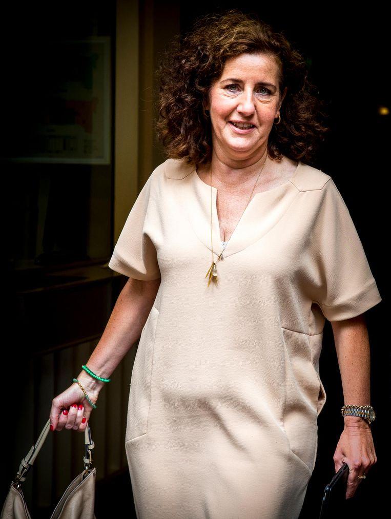 Minister Ingrid van Engelshoven van Onderwijs, Cultuur en Wetenschappen. Beeld anp