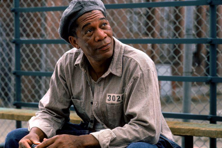 Ellis Boyd 'Red' Redding (Morgan Freeman) Beeld