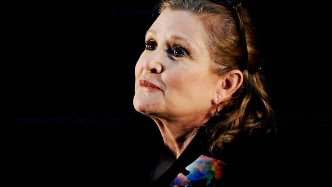 """""""Een rundstong in een doosje"""": zo maakte Carrie Fisher korte metten met seksuele intimidatie"""