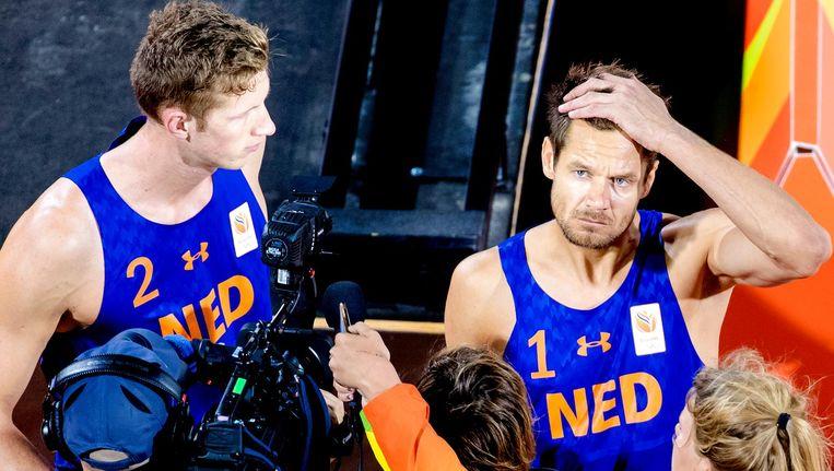 Reinder Nummerdor (r) en Christiaan Varenhorst Beeld anp