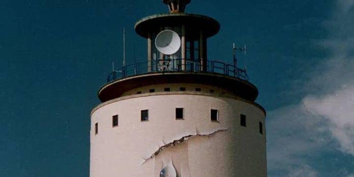 De watertoren van Oostburg.