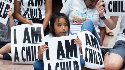 Honderden migrantenkinderen in de VS nog steeds niet herenigd met hun ouders