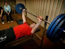 Patrique Dankers uit Helmond kampioen bankliften