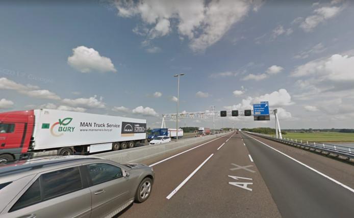 A1 bij Deventer.