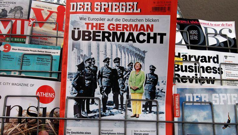 Boek Der Spiegels : De grieken willen ook geld zien. duits geld trouw