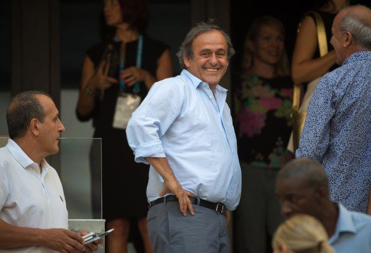 Michel Platini. Beeld AFP