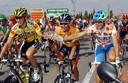 Valverde (r) in 2003, naast Heras (m) en Nozal (l).