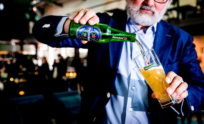Alcoholvrij 0.0 bier van Heineken.