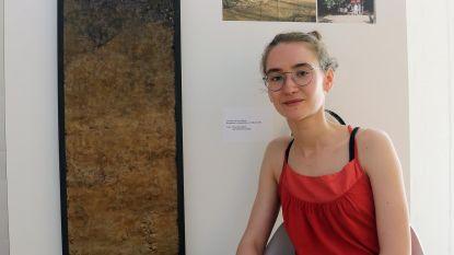 Chloé Dierckx brengt met kunstwerk hulde aan vrijwilligers Kabouterdag