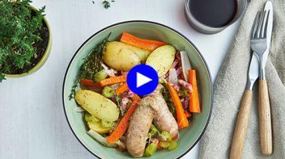 Bourgondisch stoofpotje voor een luie winterdag: amper werk aan en amper afwas