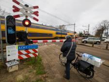Overwegstoring tussen Tilburg en Boxtel: korte tijd geen treinen