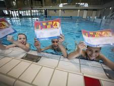 Jongens uit groep 7 halen zwemdiploma A in Oldenzaal