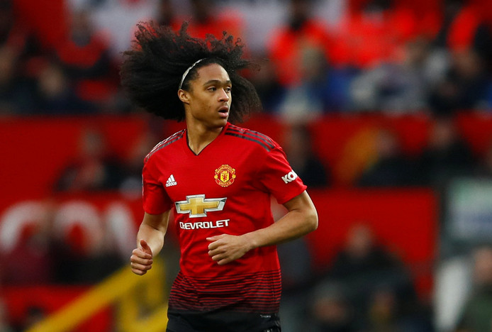 Soccer Football - FA Cup Third Round - Manchester United v Reading - Old Trafford, Manchester, Britain - January 5, 2019  Manchester United's Tahith Chong in action  Action Images via Reuters/Jason Cairnduff