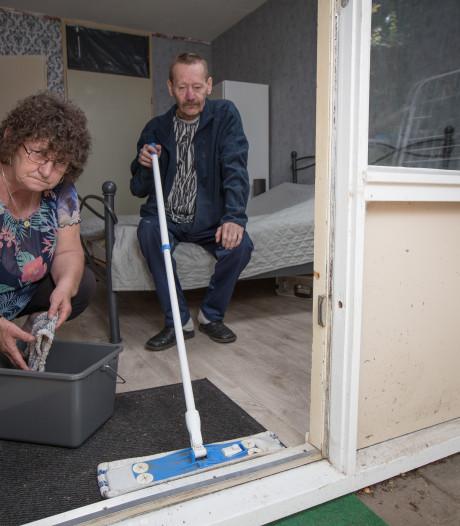 Oplossing wateroverlast bij hoosbui aan Kortricklaan in Olst laat op zich wachten