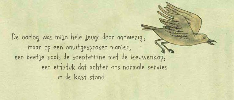 Fragment uit Nora Krugs familiealbum 'Heimat'. Beeld Nora Krug